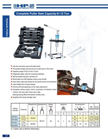 Taiwan IHP-805C Hydraulic puller | Taiwantrade