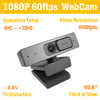 1080P 60fpts WebCam with 2*Mic