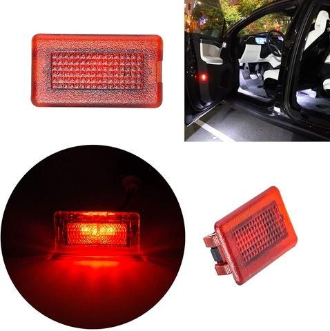 Interior Light Bulbs Kit for TesIa Model S Red
