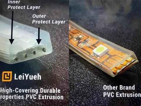 Durable Waterproof Multicolor 12V LED  Light Strip