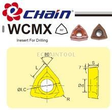 High drilling performance of drilling insert WCMX