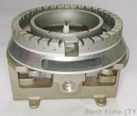 Die casting Aluminum  A380 with ignition and burner base