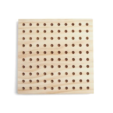 180x180x14mm Colorful wood thumb tacks nails pegboard