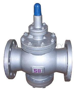 Pilot Piston-type Pressure Reducing Valve, Steam