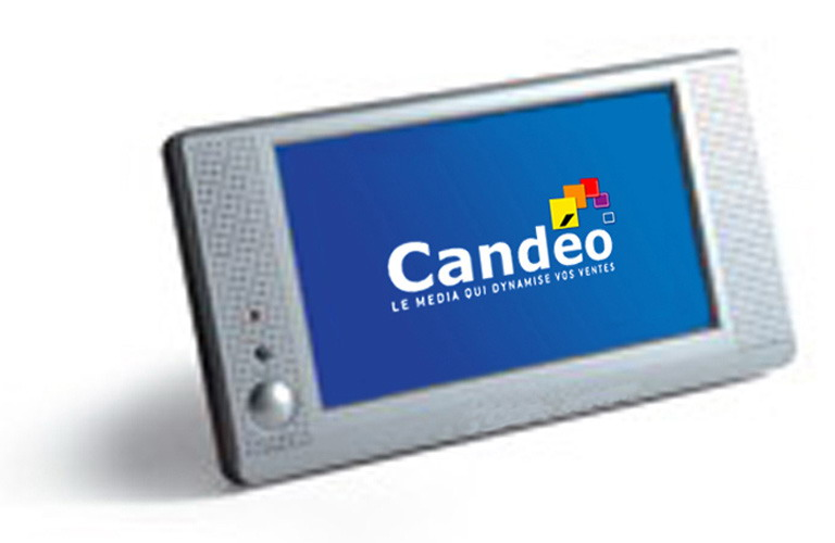 LCD media player