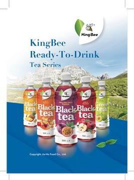 KingBee Fruit-Based Tea Series