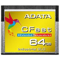 ADATA ICFS332 8GB/16GB/32GB/64GB Wide Temperature Industrial-Grade SLC CFast Card