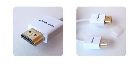 Super Thin High Speed HDMI Cable-White-1.5M