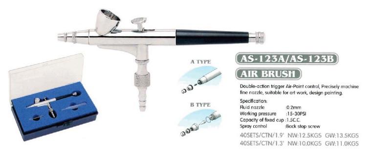 Airbrush AS-123B