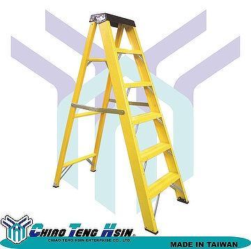 Taiwan Professional Fiberglass Stepladder Frp Ladder