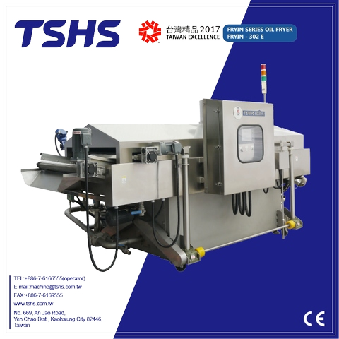Taiwan Automatic Continuous Fryer Tsung Hsing Food