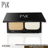 P4113_Y23 Color_PSK 3D Moisturizing Face Architect 2-Way Cake_Made in Taiwan PSK Makeup