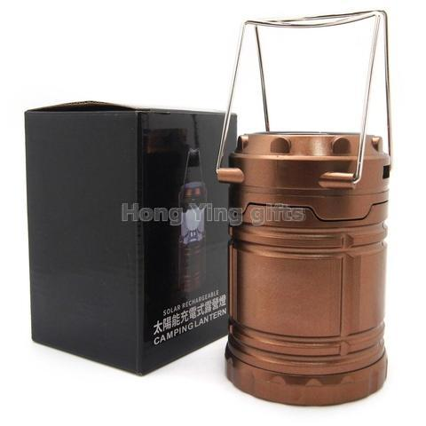 Led Rechargeable Camping Lantern with Mobile Phone Charger