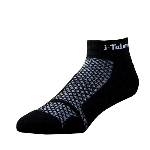 i-Taione 42K Running Socks,  black green, Hosiery