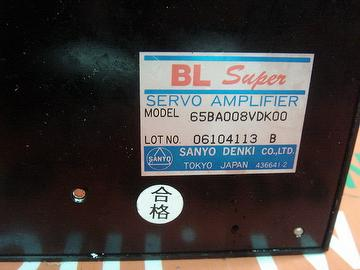 SANYO SERVO AMPLIFIER 65BA008VDK00