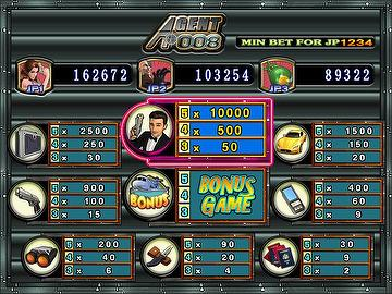 Taiwan 9Liner&25 Liner game with touch function-SVGA -Agent