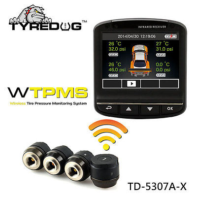 In dash camera with TPMS