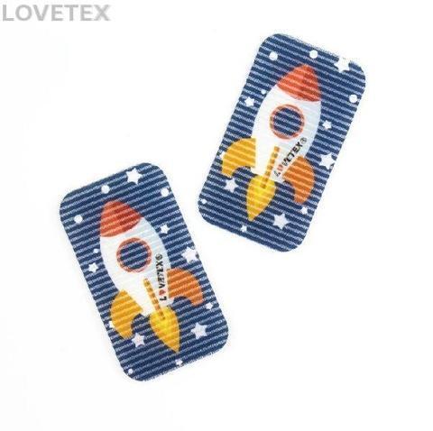 Space Rocket - Hair Bang Sticker