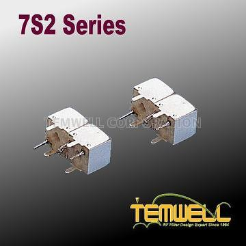 Helical Bandpass Filter- 7S 2 pole Fillter