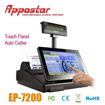Appostar ECR POS EP7200 Touch Panel