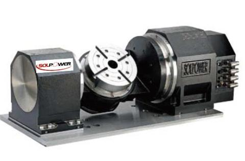 5th axis direct drive rotary table