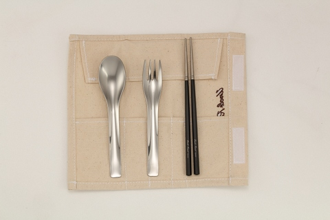 Environment-friendly Eco-Flatware kit