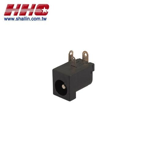 2.5mm DC power jack, RoHS Directive-compliant