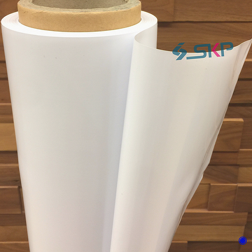 White Plastic Sheet Roll For Printing Sign Pop Banners