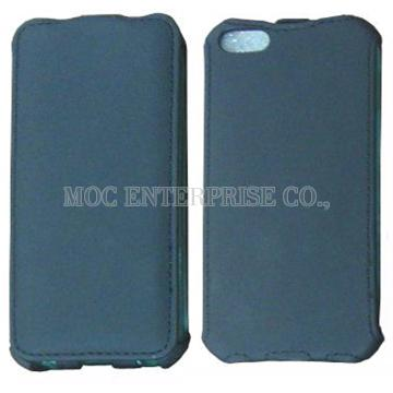 Flip Matte PVC case for iPhone 5