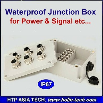 Waterproof Distribution Box, Plastic Injection Parts, Custom Made Available