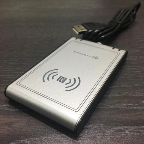 Taiwan NFC 3 in 1 Function Card Reader (NFC Card + Smart Card + SD