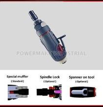 Rear Exhaust Straight Air Die Grinder