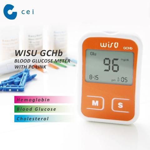 3 in 1 Blood Glucose Cholesterol Hemoglobin Monitor