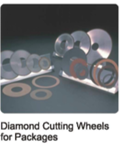 Diamond Cutting Wheels for Packages