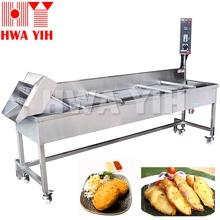 HY-590 Continuous Conveyor Deep Fryer Machine