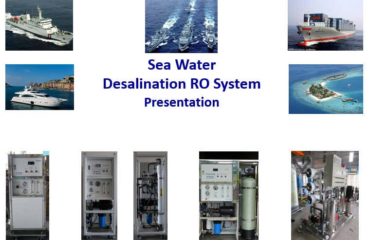Sea Water Desalination RO system