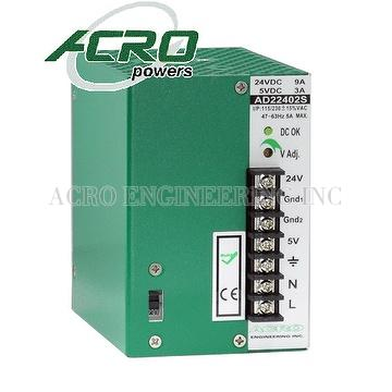 DIN Rail Power Supply, 240W, Dual Output, Custom Power Supply