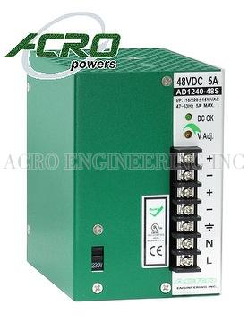 DIN Rail Power Supply, 240W, Single Output, Custom Power Supply