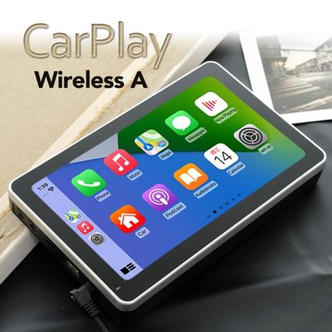 Coral Vision Carplay Wireless A - Wireless Portable Carplay/ Android Auto/ Mirrorlink Navigation Infotainment System