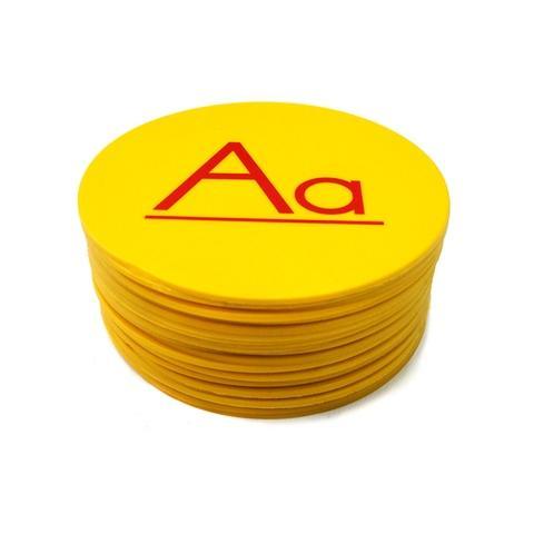 "5""A-Z English round mark"