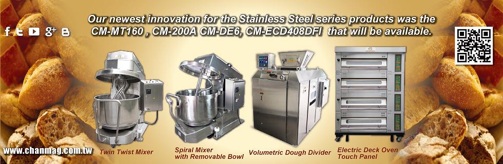 Chanmag Bakery Machine stainless steel for Mixer Dough Divider