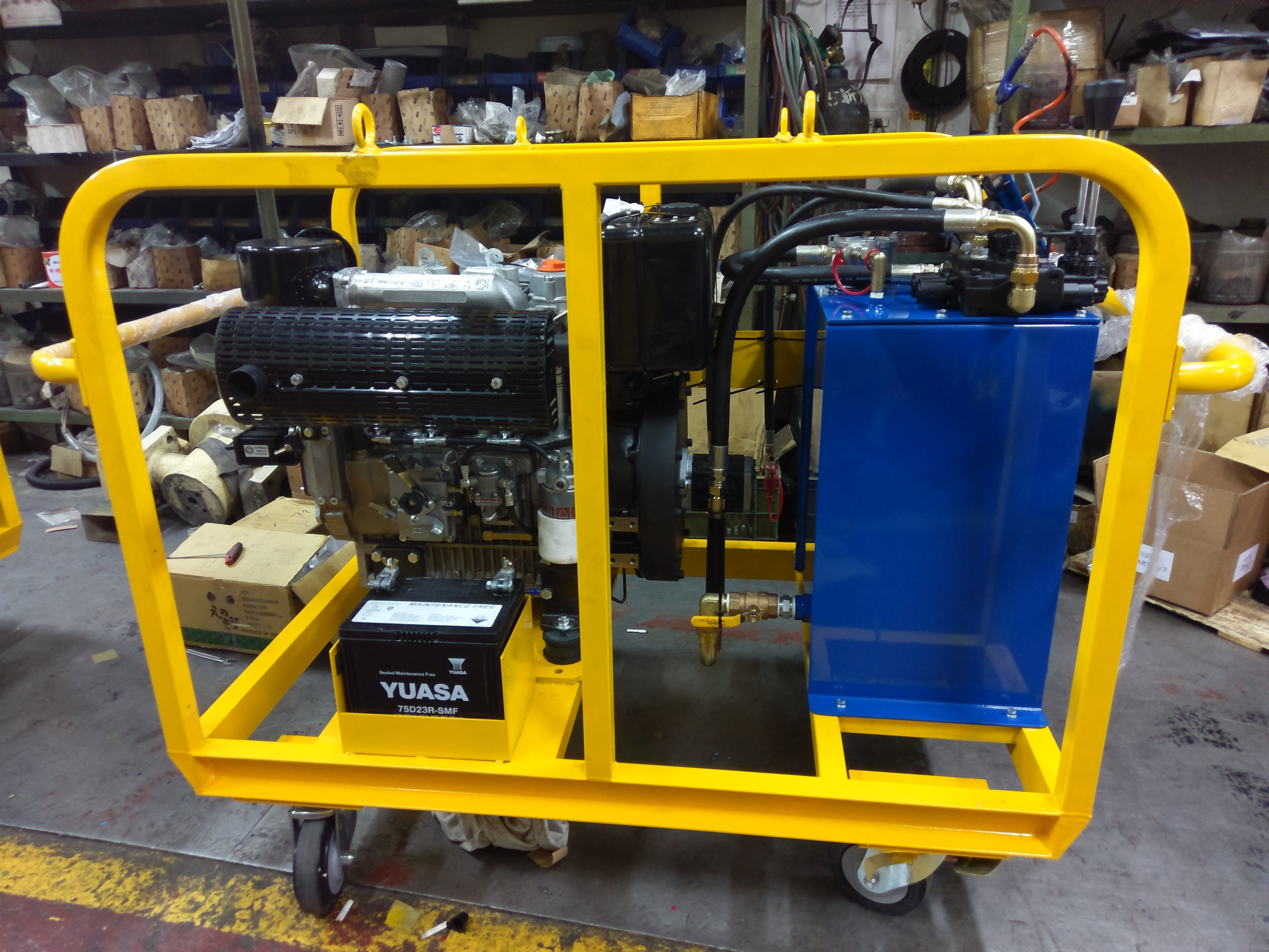 Hydraulic Powerpack - Designed to Drive All Type Hydraulic Equipments |  Taiwantrade.com
