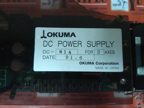 OKUM DC POWER SUPPLY DC-S1A FOR 2 AXES