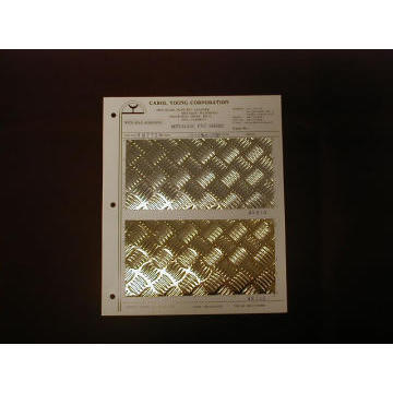 METALLIC RIGID SHEET FOR COVER AND DECORATION