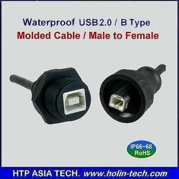 how to make usb connection waterproof