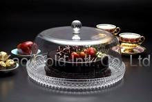 Cake plate with cover