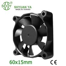 60x60x15 5v 12v 24v small dc cooling fan motor