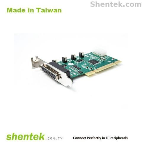 2 Port RS232 Serial 1 Port Parallel PCI Card Power