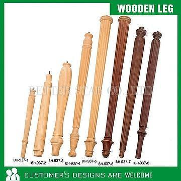 Taiwan Twisted Leg Wooden Furniture Parts Wooden Feet  - BETTER