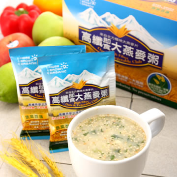 Home-Brown High Fiber Oats & Vegetable Club
